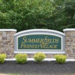 Summerfields Friendly Village Entry Sign